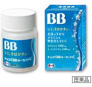 日本Eisai Chocola BB强化VC美白丸 180錠