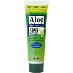 日本Aloe Vera Skin Gel 99%药用芦荟胶 128g