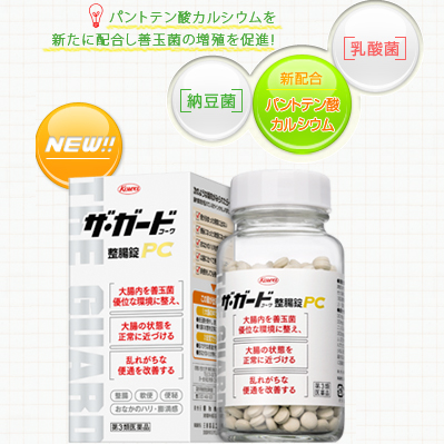 560 tablets of the guard Kowa intestinal regulation lock PCs