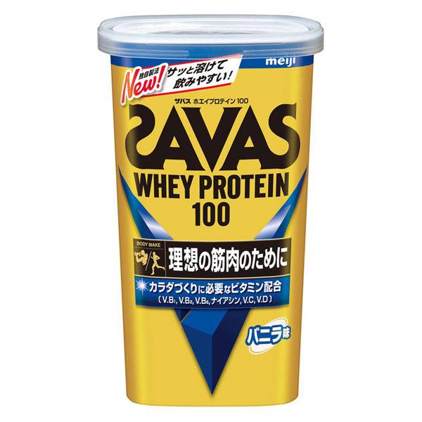 <title>秀逸 理想の筋肉のために サッと溶けて飲みやすいスタンダードなプロテイン ザバス ホエイプロテイン 100バニラ味</title>