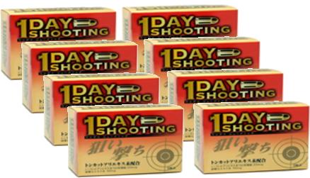【送料無料!! まとめ買い!!】 【1DAY SHOOTING】 ワンデイシューティング 6粒×8箱(8日分)【smtb-TD】【tohoku】[fs01gm]【P25Apr15】