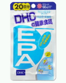DHC health food EPA 20-60 tablets