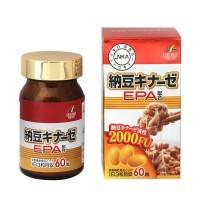 <结束>纳豆激酶EPA 60粒日本纳豆激酶协会认定商品