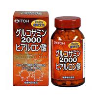 Ito herbal Glucosamine 2000 hyaluronic acid 360 grain fs3gm