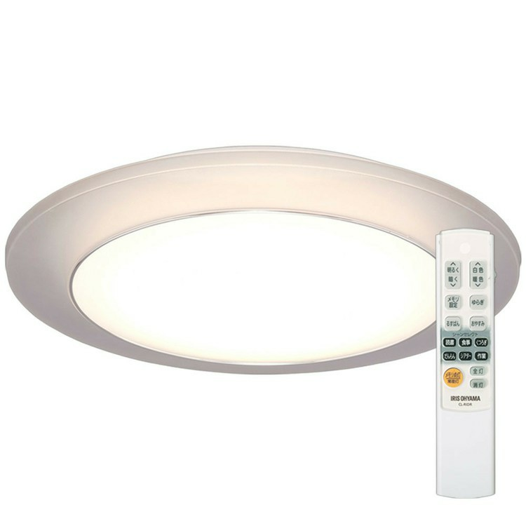 LEDシーリングライト 間接照明 12畳 調色 CL12DL-IDR送料無料 LED シーリングライト シーリング 照明 ライト LED照明 天井照明 照明器具 メタルサーキット 調光 省エネ 節電 リビング ダイニング 寝室 アイリスオーヤマ[cpir]新生活 一人