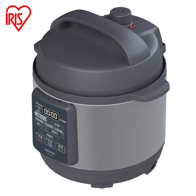 ナベ 祝日 なべ 電気鍋 手軽 簡単 使いやすい 料理 おいしい 電気圧力鍋 新品 ブラック 黒 KPC-EMA3-B送料無料 アイリスオーヤマ 25日はP5倍 3.0L