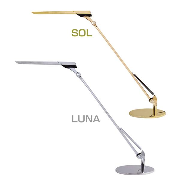 【送料無料】LEDIC EXARM DIVA LEX-974 SOL・LUNA【TC】【NGL】【B】【デスクライト スタンドタイプ スワン電器】