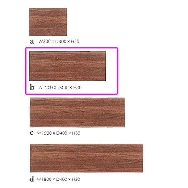 【TD】エフィーノ 120 天板 50534940 キッチン家具 木製家具 大型家具 【代引不可】【送料無料】【東馬】【取り寄せ品】