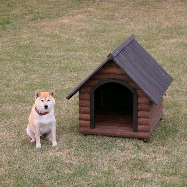 【エントリーでポイント4倍】《犬小屋》ログ犬舎 LGK-750[犬小屋 大型犬用 中型犬 屋外用 アイリスオーヤマ] おしゃれ iris60th