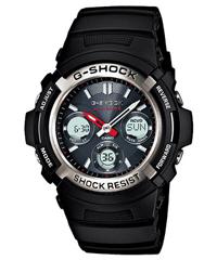 【エントリーで最大ポイント2倍】【国内正規品】CASIOカシオメンズ アナデジ(アナログ デジタル)腕時計G-SHOCK タフソーラー電波時計MULTIBAND6【AWG-M100-1AJF】[CAWT] おしゃれ 送料無料