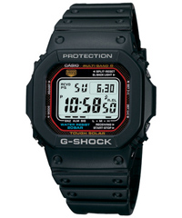 時計 【国内正規品】CASIOカシオメンズ デジタル腕時計G-SHOCK SPEEDモデル タフソーラー電波時計MULTIBAND6【GW-M5610-1JF】[CAWT] おしゃれ 送料無料