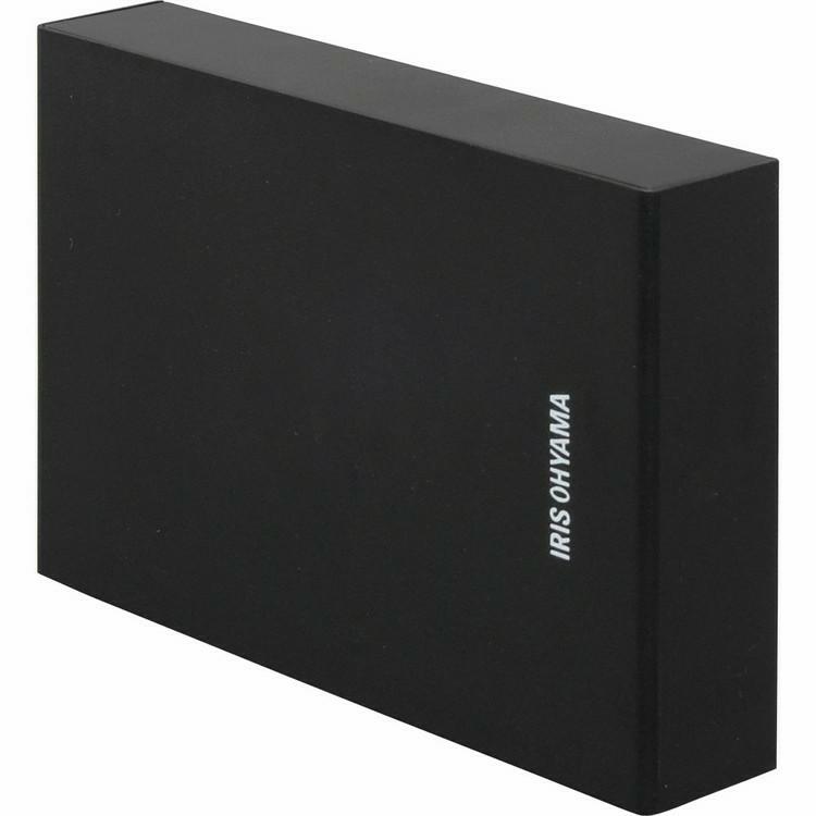 ハードディスク HDD 外付け テレビ 録画用 録画 縦置き 店内限界値引き中 セルフラッピング無料 横置き 静音 コンパクト シンプル レコーダー 今だけ限定15%OFFクーポン発行中 連動 HD-IR2-V1 2TB 外付けハードディスク USB ルカ アイリスオーヤマ テレビ録画用 LUCA ブラック