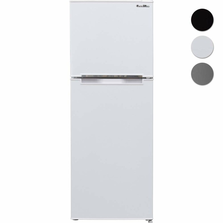 \最安値挑戦中/冷蔵庫 2ドア 冷凍庫 138L ARM-138L02 冷蔵庫 冷凍庫 冷凍冷蔵庫 大型 家庭用 2ドア 冷蔵庫 2扉 家電 左右ドア おしゃれ ブラック 黒 シルバー 新品 Grand Line A-Stage