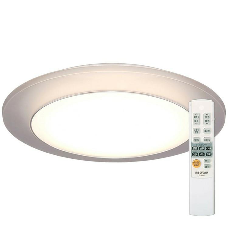 【あす楽】LEDシーリングライト 間接照明 8畳 調色 CL8DL-IDR送料無料 LED シーリングライト シーリング 照明 ライト LED照明 天井照明 照明器具 メタルサーキット 調光 省エネ 節電 リビング ダイニング 寝室 アイリスオーヤマ