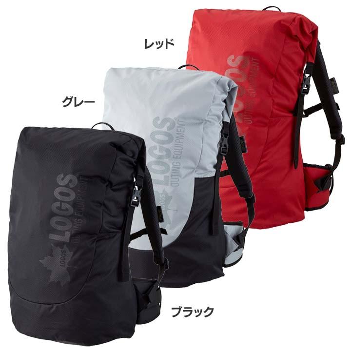 ADVEL ダッフルリュック40 88250161送料無料 鞄 バッグ サック キャンプ ロゴスBAG レッド・グレー・ブラック【D】