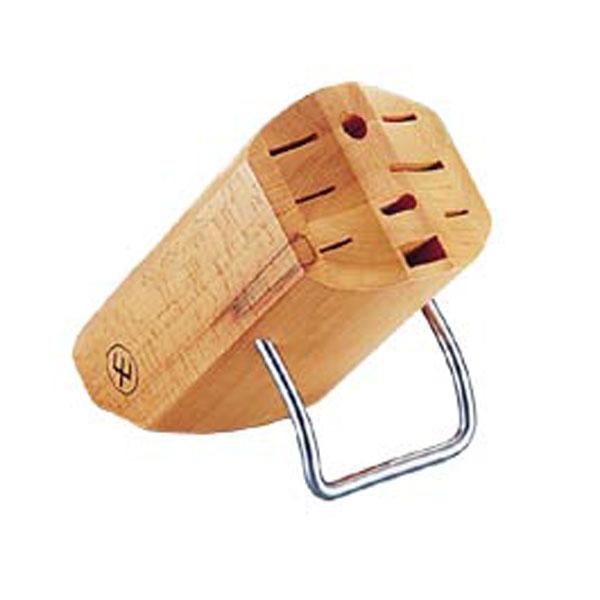 【送料無料】WUSTHOF(ヴォストフ)ナイフブロック 7256(木製) ADL95〔調理器具・包丁・ナイフ・ナイフスタンド・包丁スタンド・包丁収納・キッチン収納〕【en】 おしゃれ