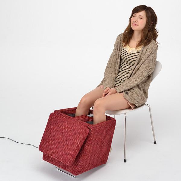★ATEX[AATEX]卢尔德按摩凳子AX-HXL174br、AX-HXL174rd摩卡棕色·都市红[放松放松美容家电家庭事情按摩器按摩师凳子椅子]漂亮
