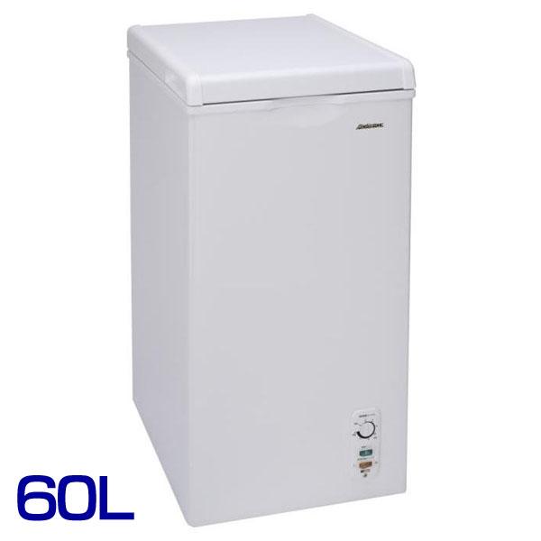 【送料無料】アビテラックス 上開き冷凍庫 60LACF-603C【YD】[キッチン家電・新生活・一人暮らし・れいぞう庫・冷やし・食糧保存] おしゃれ