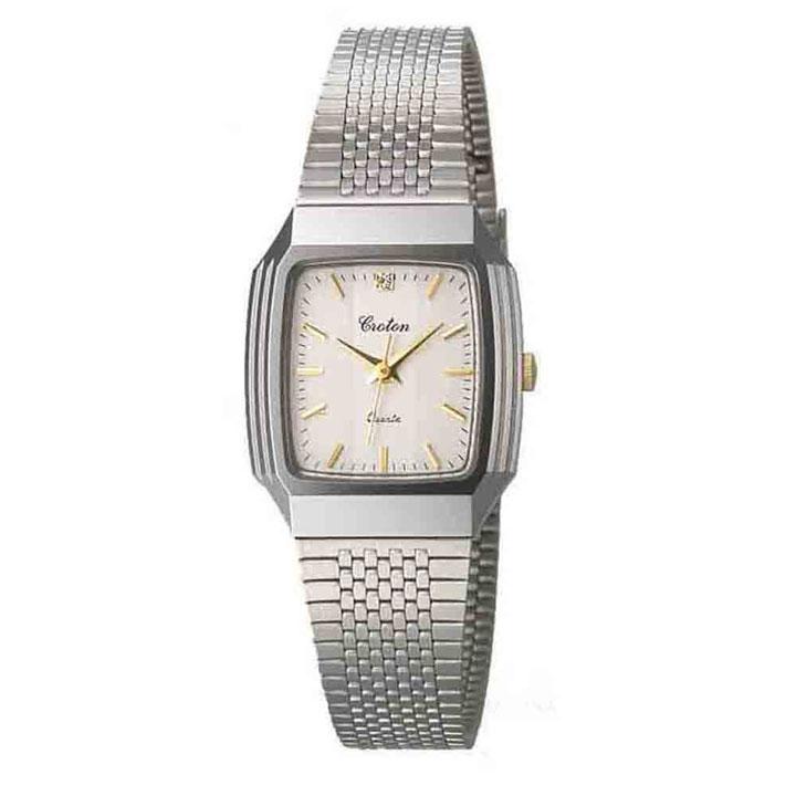 CROTON 腕時計 婦人 RT-148L-9腕時計 リストウォッチ レディース 生活防水 日本製 クロトン 腕時計レディース 腕時計日本製 リストウォッチレディース レディース腕時計 日本製腕時計 レディースリストウォッチ 和工