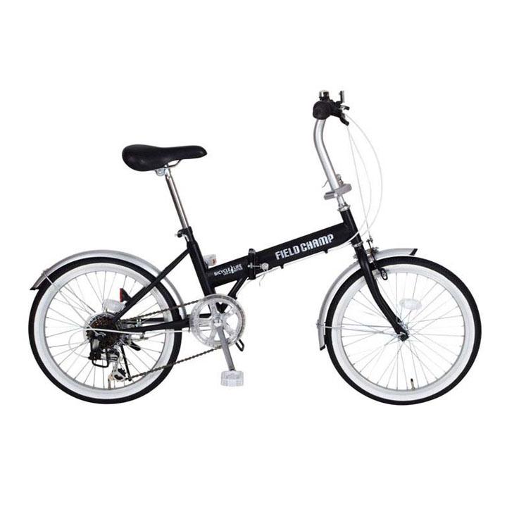 折りたたみ自転車 MG-FCP206送料無料 自転車 20インチ 折りたたみ フィールドチャンプ 折り畳み ミムゴ FIELD CHAMP FDB20206S(組立B) 【TD】 【代引不可】【取り寄せ品】