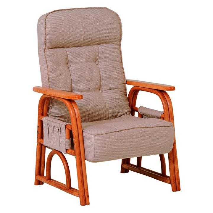 ギア付き座椅子 ナチュラル RZ-1255NA送料無料 座椅子 椅子 イス いす 籐製 ラタン おしゃれ 座椅子いす 座椅子おしゃれ 椅子いす いす座椅子 おしゃれ座椅子 いす椅子 萩原 【TD】 【代引不可】
