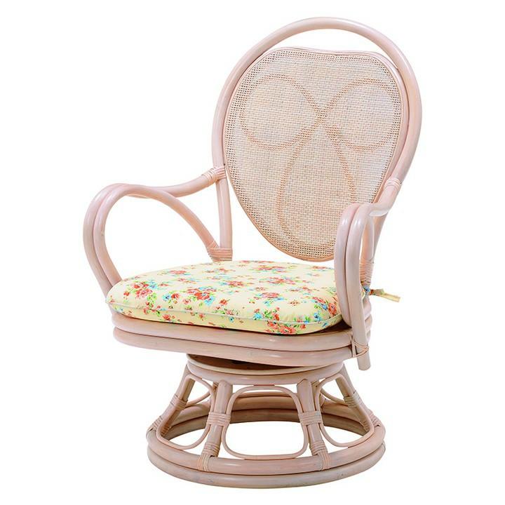 回転座椅子 ホワイト RZ-820WH送料無料 座椅子 椅子 イス いす 籐製 ラタン おしゃれ 座椅子いす 座椅子おしゃれ 椅子いす いす座椅子 おしゃれ座椅子 いす椅子 萩原 【D】