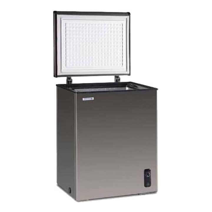 ステンレス冷凍庫0L JH100CR送料無料 冷凍庫 冷凍ストッカー フリーザー 小型 ノーフロスト 【TD】 【代引不可】【取り寄せ品】