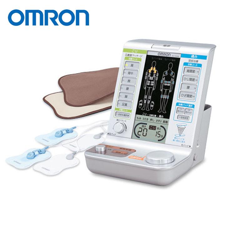 【エントリーでポイント2倍】電気治療器 HV-F5200送料無料 電気治療器 低周波治療器 温熱治療 肩こり 治療機器 オムロン 【D】