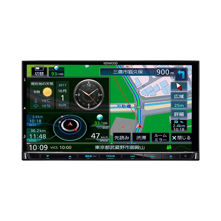 彩速ナビ フルセグ MDV-M705送料無料 カーナビ 車載 高画質 KENWOOD JVCケンウッド 【D】