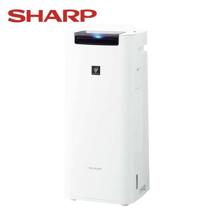 【エントリーでポイント5倍】加湿空気清浄機 ホワイト KI-HS40-W送料無料 空気清浄器 プラズマクラスター 10畳 季節家電 シャープ 【D】