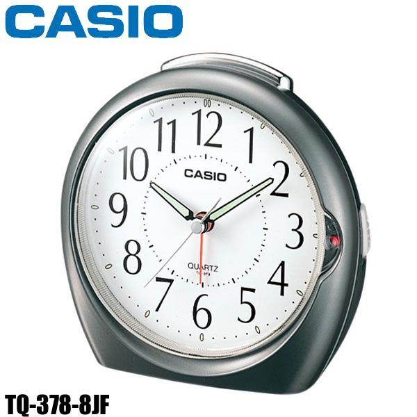 レビューを書いて5%OFFクーポンプレゼント 時計 CASIOカシオ置時計 TQ-378-8JF 全品送料無料 CAWT HD おしゃれ 格安店