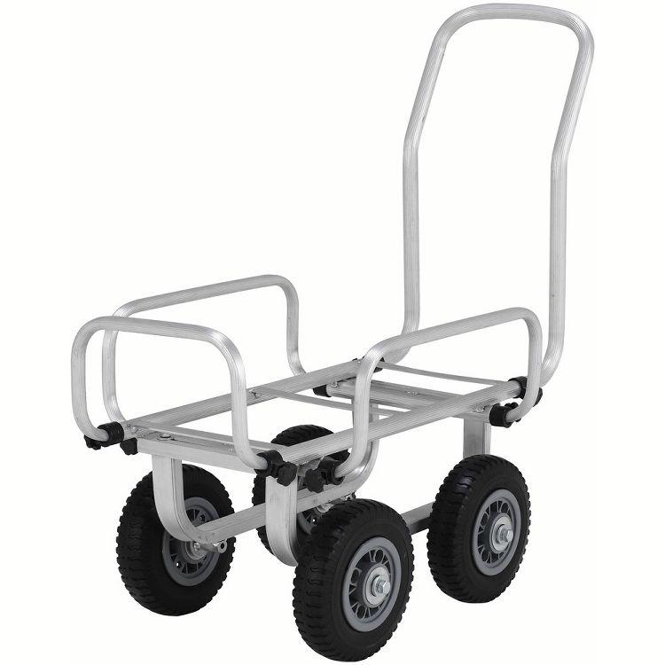伸縮ハウスカー SKK058PS送料無料 キャリー 台車 伸縮 ノーパンクタイヤ アルミ DIY 工具 アルインコ 【D】