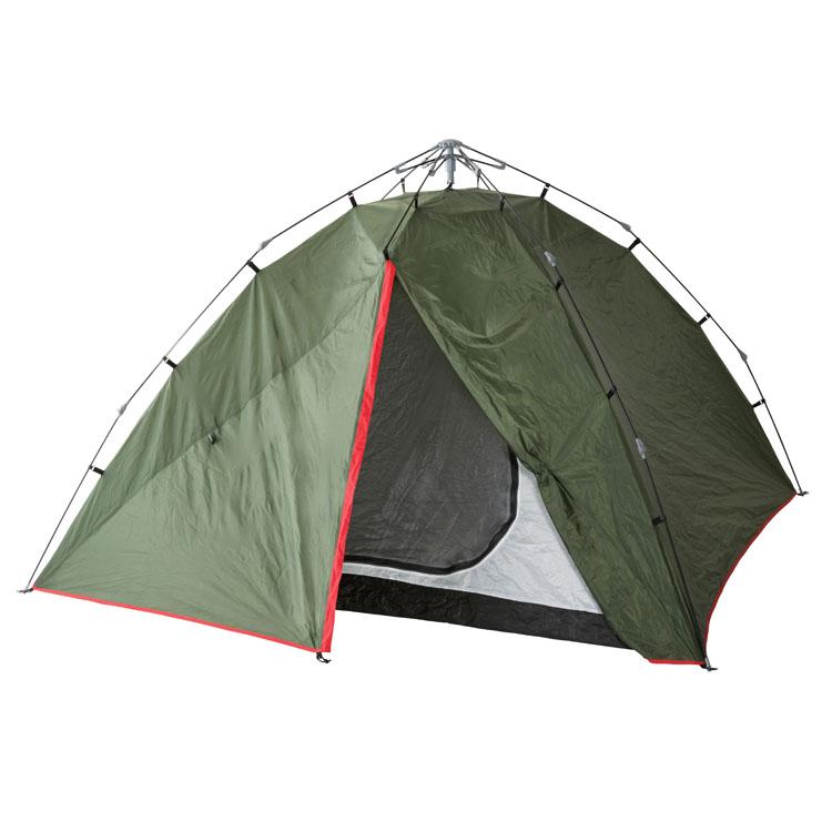 かんたんドーム 240 NE1225送料無料 テント 簡単 3~4人用 ワンタッチ キャンプ ノースイーグル アウトドア シンプル キャンプ ノースイーグル 【D】
