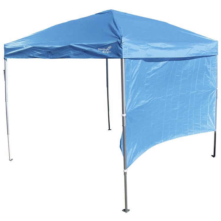 アルミコンパクトキャノピー3段 250 NE1223送料無料 タープ 3段階 テント サンシェード 屋外 ノースイーグル アウトドア シンプル キャンプ ノースイーグル 【D】