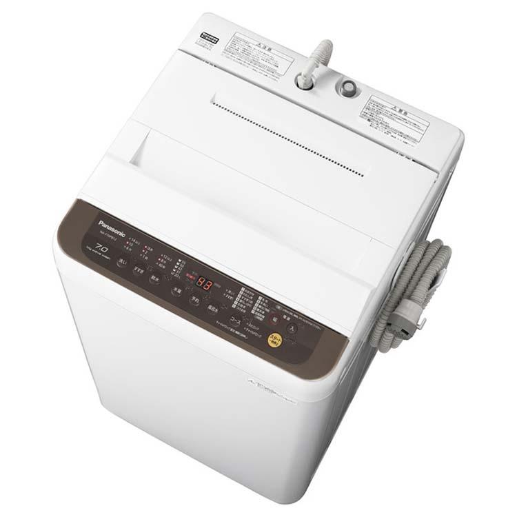 洗濯機 7kg 全自動洗濯機 NA-F70PB12-T送料無料 洗濯 生活家電 全自動 家電 Panasonic パナソニック 【D】