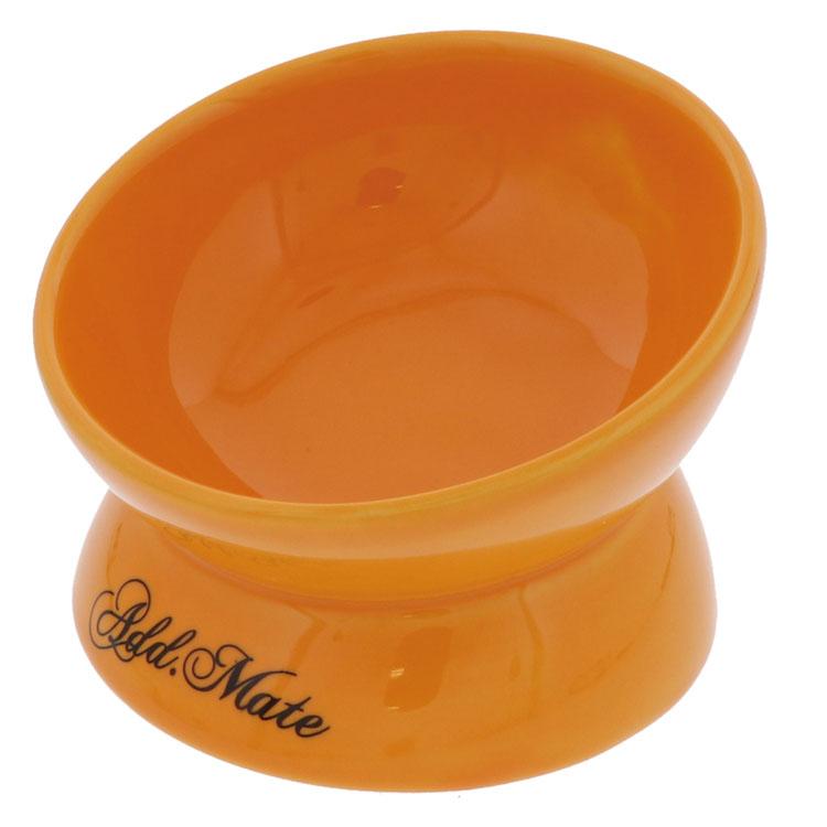 ペット食器 陶器 贈答品 高さ フードボール 犬 猫 TC 食べやすい陶器食器 食べやすい 安値 Sサイズ 安定