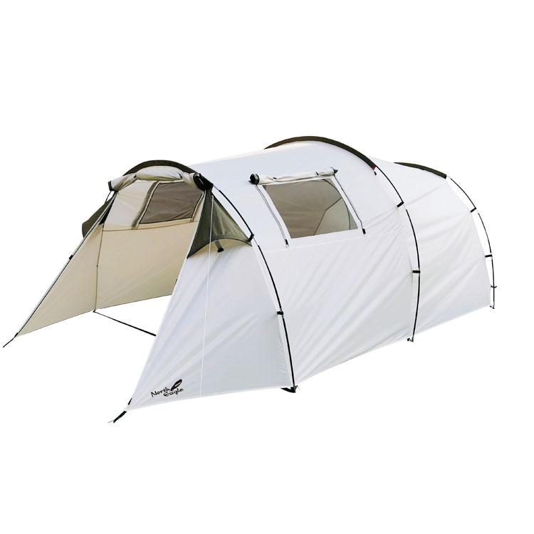 アーチ2ルームテント NE1228送料無料 テント 簡単 3~4人用 トンネル型 2ルーム アウトドア シンプル North Eagle キャンプ ノースイーグル 【D】