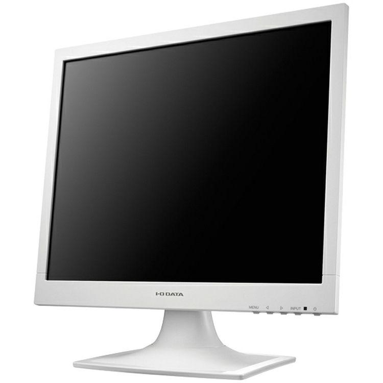 5年保証 17型スクエア液晶ディスプレイ ホワイト LCD-AD173SESW送料無料 モニター I・O・DATA パソコン PC機器 アイ・オー・データ機器 【D】