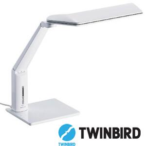 LEDデスクライト ツインバード〔TWINBIRD〕 LE-H615W〔電気スタンド・デスクスタンド・デスクライト〕【DC】 【限定】 おしゃれ 送料無料