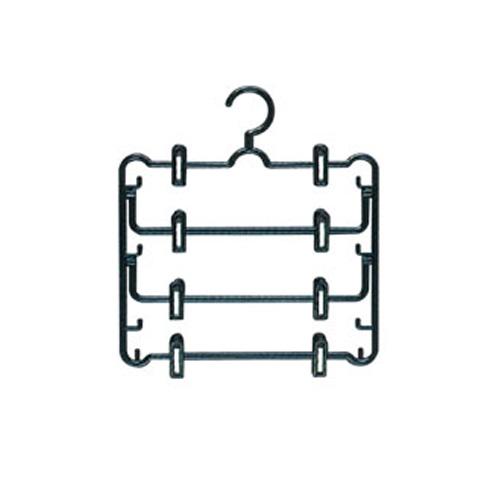 【レビューを書いて5%OFFクーポンプレゼント】 スカートハンガー SHN-4(4段)衣類ハンガー 収納ハンガー コートハンガー 洋服掛け おしゃれ アイリスオーヤマ