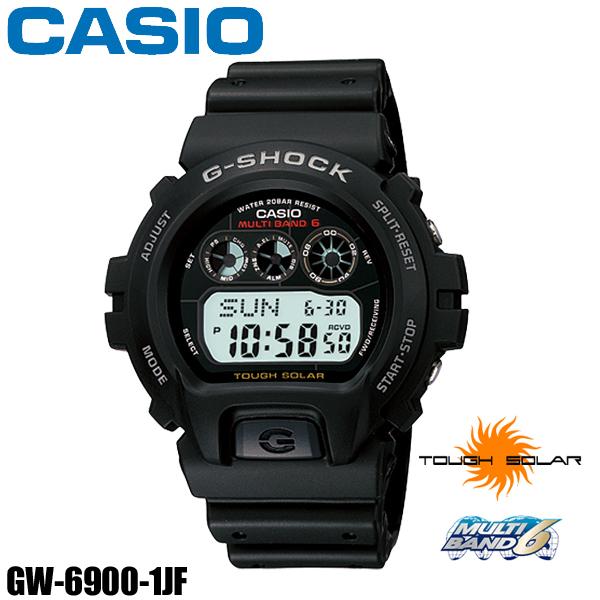 【送料無料】カシオ電波ソーラーGショックGW-6900-1JF【TC】【CASIO】カシオG-SHOCKスピードメンズ 腕時計 男性用 時計 ウォッチ