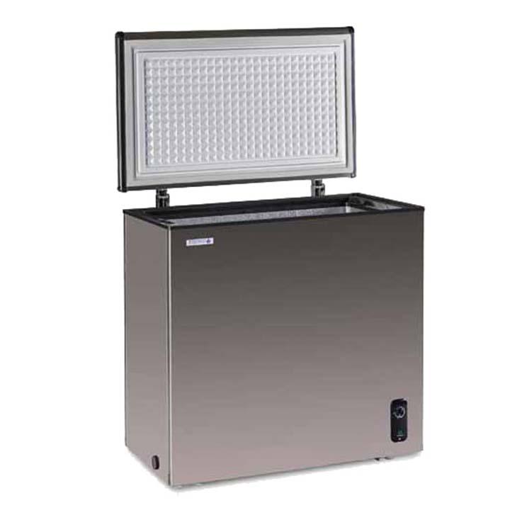 ステンレス冷凍庫 146L JH146CR 冷凍庫 冷凍ストッカー フリーザー 小型 ノーフロスト 【TD】 【代引不可】