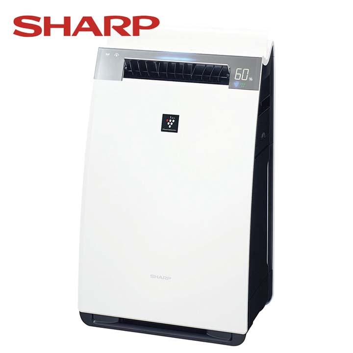加湿空気清浄機 ホワイト KI-HX75-W送料無料 空気清浄器 プラズマクラスター 21畳 クラウド対応 シャープ 【D】