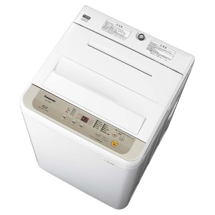 洗濯機 全自動 全自動洗濯機 5kg NA-F50B12-N送料無料 洗濯機 洗濯 生活家電 全自動 家電 一人暮らし Panasonic パナソニック 【D】