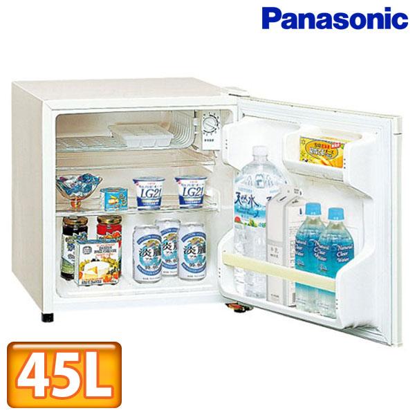 【送料無料】Panasonic〔パナソニック〕パーソナル冷蔵庫 45L NR-A50W-W【TC】【DW】■2