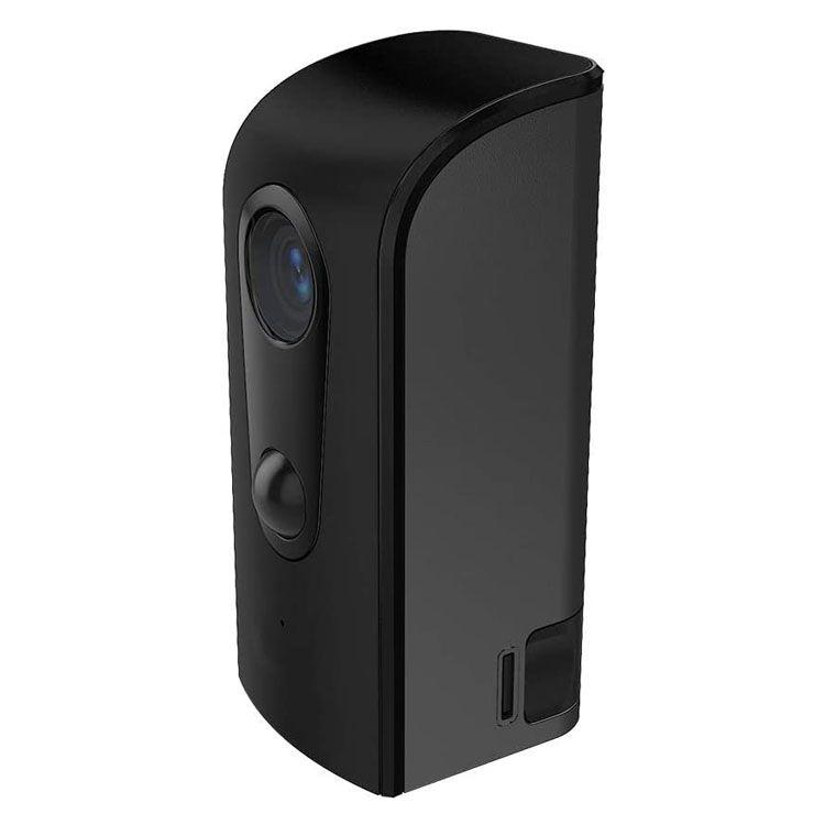 モバイルスマートカメラ 屋外用 ブラック RLC036C送料無料 防犯カメラ 工事不要 ワイヤレス relica 防水 通知 不審者 暗視 簡単 取付 【D】
