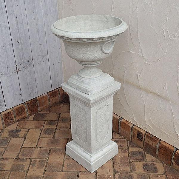 PSスタンドカップ直径37cmと花台スクエアL高さ49cmのセット