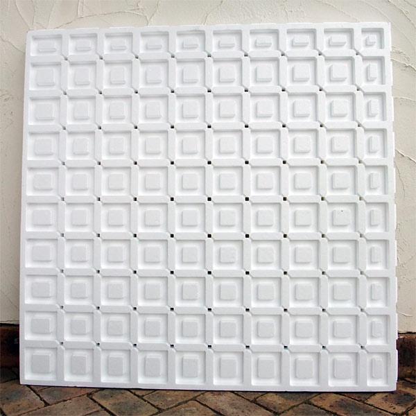 エコロベース保水排水マット45(100×100×4.5cm)(屋上緑化用)12枚セット