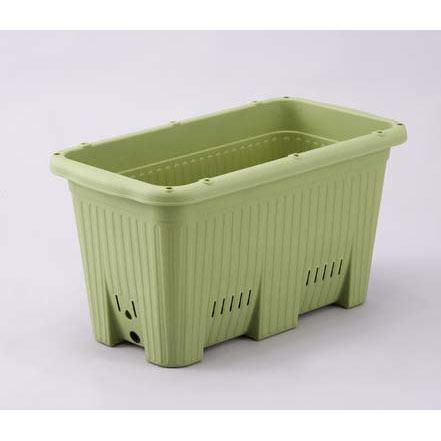 貯水機能付き野菜プランター:楽々菜園 深型600支柱用フレーム付 10個セット