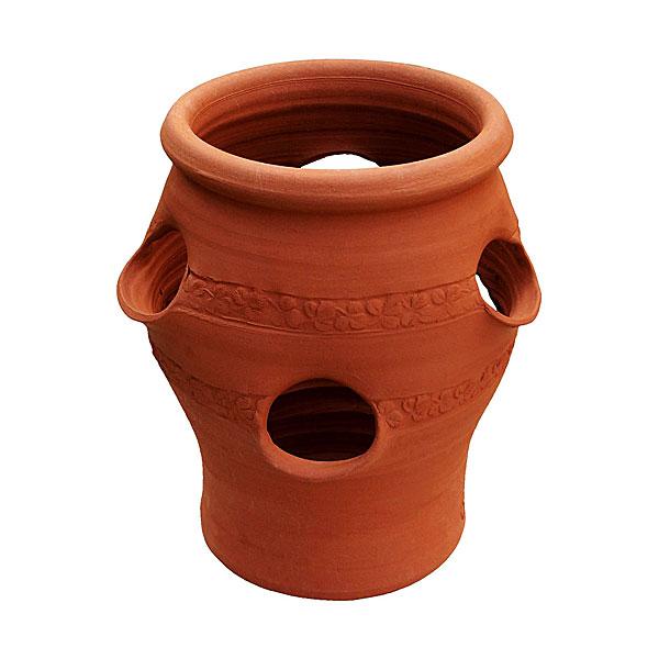 Willow Potteryの鉢 ストロベリーポット:SP3 直径24cm